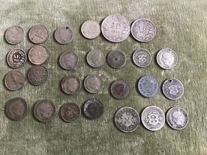 Switzerland Swiss Francs Collectable Money Coins Inc Silver 1850 Etc