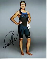 NATALIE COUGHLIN Signed Autographed USA OLYMPIC SWIMMER Photo