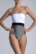 Marie France Van Damme One Piece Colorblock Bustier Swimsuit Size 0 (XS) $329