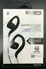Altec Lansing Waterproof Sport w/ Hook Bluetooth Ear-Hook Earphones BRAND NEW