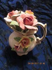 Vintage Japan Empress By Haruta Porcelain Flower Pitcher Vase
