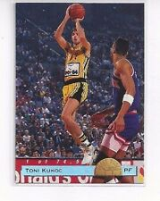 1993 CLASSIC BASKETBALL DRAFT PICKS LPS INSERT TONI KUKOC #LP8 - CROATIA
