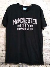 Manchester City Football Club Black T-Shirt Large