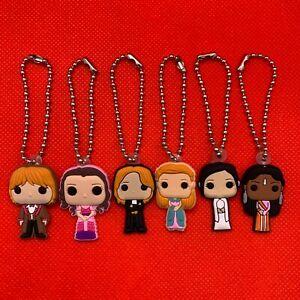 Harry Potter Yule Ball Bobblehead Keyring Keychain Hermione Ginny Cho NEW