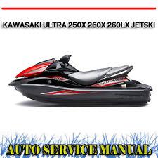 Kawasaki JETSKI Ultra 250x 260x 260lx Watercraft Workshop Service Repair Manual