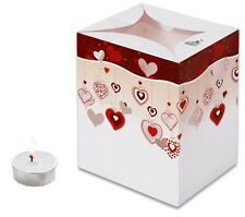 CANDLE BAGS HANGING HEARTS - 5 Pack
