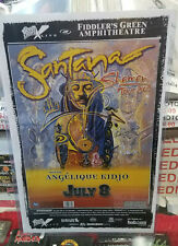 Santana Poster Late 2000'S Vintage 11 X 17 In Top Loader Concert Board