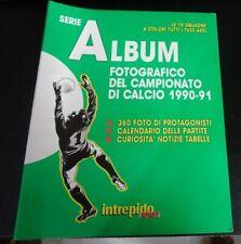 CALCIO : Serie A ALBUM FOTOGRAFICO del CAMPIONATO DI CALCIO 1990-91 COMPLETO
