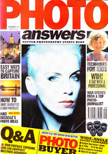 Photo Answers magazine with  wide angle zoom lenses tested  ,   September   1994