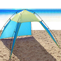 5-8 Person Pop Up Beach Tent Sun Shade Shelter Outdoor Camping Fishing Canopy
