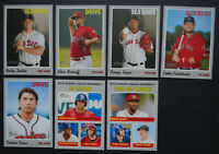 2019 Topps Heritage Minor League Boston Red Sox Base Team Set 7 Cards