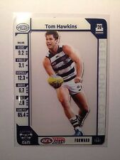 2015 Teamcoach Team Coach Prize Card Tom Hawkins Geelong Cats