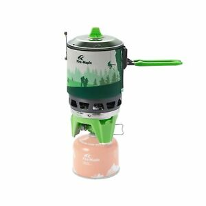 Fire-Maple Fixed Star 3 Solo Cooking System Stove with Electric Ignition   Po...