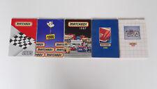 Matchbox Series 1985/86/87/88/89 International Pocket Catalogue (ohne Einträge)