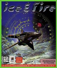 ICE E FIRE pc cd rom spaziale   CARTONATO BIG BOX