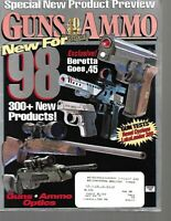 Guns & Ammo Handguns Magazine February 1998 Special New Product Preview