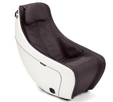 Synca CirC Premium Compact Massage Chair with Heat in Espresso Brown