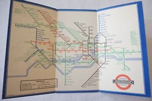 1938 No. 1 Railway Map Harry Beck London Transport Underground Tube