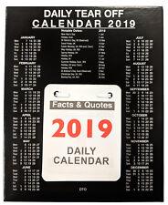 2019 diarios separe día fecha a diario de la oficina de negocios de página Calendario de escritorio TO19