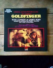 Goldfinger James Bond Soundtrack LP
