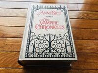 VAMPIRE CHRONICLES Anne Rice Interview Lestat Queen LEATHER EASTON PRESS LK MINT