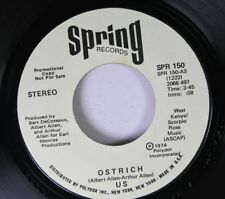Rock Promo Nm! 45 West Kenya/Scorpio Rose Music - Ostrich / Ostrich On Spring Re