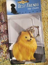 POMERANIAN ~ BEST FRIEND KEY CHAIN