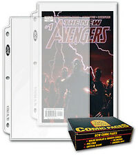 100 BCW Comic Book Binder Pages