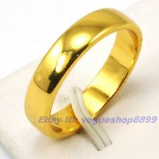 Size 11.5 Ring,REAL COMPACTLY 18K YELLOW GOLD GP SOLID FILL MEN,Multi-size vp2