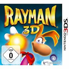 Nintendo 3DS Rayman 3D Jump N Run Adventure intenso juego Multilingüe