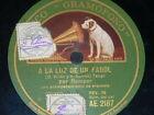 TANGO 78 rpm RECORD Gramofono RAMPER El pingo de mi china SPAIN A la luz COMIC