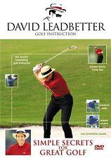 DAVID LEADBETTER--SIMPLE SECRETS for GREAT GOLF DVD
