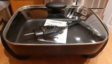 """Farberware Non-Stick Electric Skillet Model 103745, 15"""" x 12"""" x 3"""" Deep"""