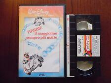Herbie il maggiolino sempre più matto (Ken Berry) - VHS ed. Walt Disney rara