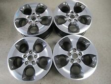 "Set of (4)  OEM 18"" 2007-2018 Jeep Wrangler Machined & Graphite Wheels Rims 9119"
