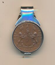 **Admiral Gardner 20 Cash Treasure Coin Sterling Money Clip**