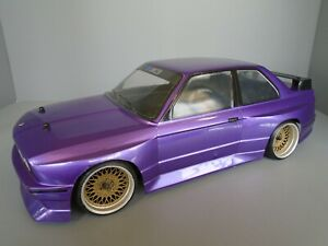 HPI 1/10 rs4 Sprint 2 RC drift car 350z bmw m3 e30 touring car  Roller chassis