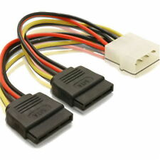 SATA Y Strom Kabel S-ATA Verteiler Adapter Stromkabel SSD 2x 15-polig Netzteil ♥
