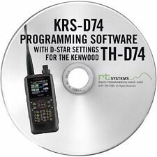 RT Systems Programming Software Only for the Kenwood TH-D74