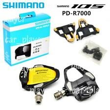 Shimano 105 PD-R7000 Carbon SPD-SL Road Bike Bicycle Pedals Set w/ SM-SH11 New