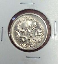 1996 5 cent  unc coin