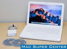 """Apple MacBook Unibody 13.3"""" - 2.26GHz Intel C2D  2GB RAM  250GB HD  macOS Sierra"""