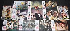 1971 James Bond 007 Diamonds Are Forever Lobby Cards 12pc Roger Moore (Spanish)