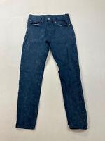 LEVI'S 512 SLIM Jeans - W29 L30 - Blue Acid Wash - Great Condition - Men's