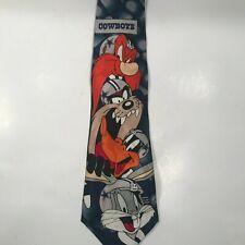 NFL Vintage Dallas Cowboys Looney Tunes Tie