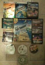 Microsoft Flight Simulator X Deluxe Edition Lot! Megascenery! Guide! More! PC