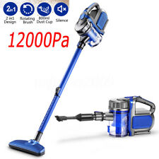 2-in-1 Corded Upright Handheld Stick Vacuum Cleaner 12000Pa Suction Brush Tool