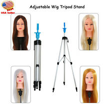 """55"""" Hair Salon Cosmetology Mannequin Tripod For Training Head Doll Stand Holder"""