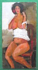 Stordimento ORIGINALE IMPRESSIONISTA pittura ad olio nudo imaginings da Alexei petrenko: