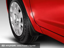 Genuine Hyundai I20 Front Mudflaps Set of 2 Current Model Part AL4601J000